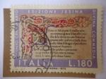 Sellos de Europa - Italia -  Vº Centenario Edizione Jesina  Divina Commedia - Dante Aligeri