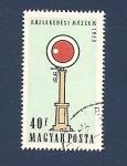 Sellos de Europa - Hungría -  Museo  Közlekedési del Transporte - señal de ferrocarriles