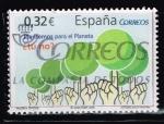 Sellos del Mundo : Europa : España : VALORES  CIVICOS.  PLANTEMOS PARA EL PLANETA