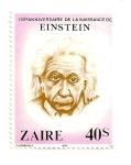 Sellos del Mundo : Africa : República_Democrática_del_Congo : Albert Einstein, (Fisico) 1879-1955