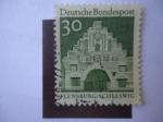 Sellos de Europa - Alemania -  Flensburg-Schleswig - Deutsche Bundespost