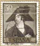 Sellos del Mundo : Europa : España : Conde de Fernan Nuñez - GOYA