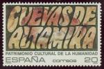 Sellos del Mundo : Europa : España : ESPAÑA -  Cuevas de Altamira y el arte rupestre paleolítico del norte de España