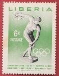 Sellos del Mundo : Africa : Liberia : 16th Olympic Games