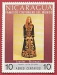 Sellos del Mundo : America : Nicaragua : Famosos Couturiers del mundo
