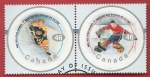 Sellos del Mundo : America : Canadá : NHL All-star games