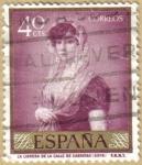 Sellos del Mundo : Europa : España : La librera de la calle Carretas - GOYA