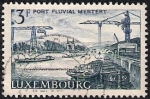 Sellos de Europa - Luxemburgo -  Puerto fluviar Mertert