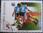 Sellos de Europa - Bulgaria -  1990 World Soccer Championships, Italy