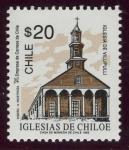 Sellos del Mundo : Europa : Chile : CHILE:  Iglesias de Chiloé