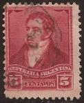 Sellos del Mundo : America : Argentina : Bernardino Rivadavia  1892 5 centavos