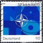 Sellos de Europa - Alemania -  1871 - 50 Anivº de la OTAN
