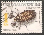 Sellos del Mundo : Europa : Checoslovaquia : Polyphylla fullo- escarabajo batanero