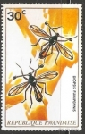 Sellos del Mundo : Africa : Rwanda : diopsis fumipennis