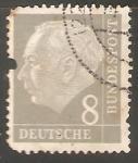 Sellos de Europa - Alemania -  Theodor Heuss