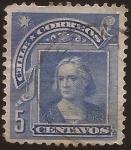 Sellos del Mundo : America : Chile : Cristobal Colon 1905 5 centavos