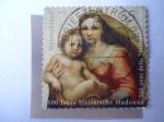 Sellos de Europa - Alemania -  500 Jahre Sixtinische madonna.