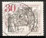 Sellos de Europa - Alemania -  Martin Luther