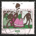 Sellos de Europa - Alemania -  Ludwig Thoma