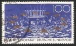 Sellos del Mundo : Europa : Alemania : 40 jahre europa deutsche bundespost
