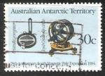 Sellos del Mundo : Oceania : Territorios_Antárticos_Australianos : 75 aniversario polo magnético EXPEDICIÓN