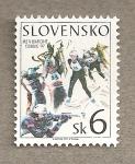 Sellos del Mundo : Europa : Eslovaquia : Ski
