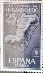 Sellos del Mundo : Europa : España :  Intercambio m4b 0,25 usd 25 cents. 1961