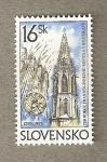 Sellos del Mundo : Europa : Eslovaquia : Iglesia franciscanos Bratislava