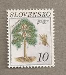 Sellos del Mundo : Europa : Eslovaquia : Pinus sylvestris