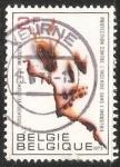 Sellos de Europa - Bélgica -  protección contra incendios en la industria: