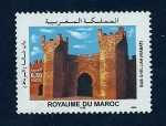 Sellos del Mundo : Africa : Marruecos : Bab chellah (Rabat)