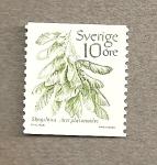Sellos del Mundo : Europa : Suecia : Acer platanoides