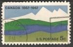Sellos del Mundo : America : Canadá : Canada 1867-1967