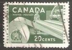 Sellos del Mundo : America : Canadá : Pulp and Paper Industry