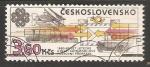 Sellos del Mundo : Europa : Checoslovaquia :  World Communications Year - transportation