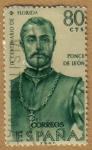 Sellos del Mundo : Europa : España : Ponce de Leon