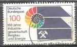 Sellos de Europa - Alemania -  Centenario de Minas y Energía Industrias Sindicato.