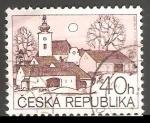 Sellos del Mundo : Europa : República_Checa : Village church