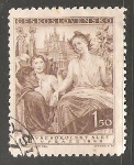 Sellos de Europa - Checoslovaquia -  Symbolická kresba republiky