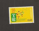 Sellos de Europa - Luxemburgo -  50 aniv. Unión Consumidores