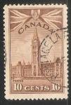 Sellos de America - Canadá -  Parliament