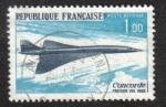 Sellos del Mundo : Europa : Francia : Primer Vuelo del Concorde