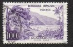 Sellos del Mundo : Europa : Francia : River Sens (Guadeloupe)