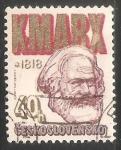Sellos del Mundo : Europa : Checoslovaquia : Karl Marx