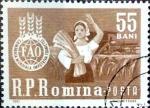Sellos del Mundo : Europa : Rumania :  Intercambio m4b 0,20 usd 55 b. 1963