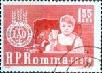 Sellos del Mundo : Europa : Rumania :  Intercambio m4b 0,20 usd 1,55 l. 1963