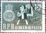 Sellos del Mundo : Europa : Rumania :  Intercambio m4b 0,25 usd 1,75 l. 1963