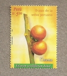 Sellos del Mundo : America : Perú : Frutas de la Selva, Cocona
