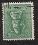 Sellos del Mundo : Oceania : Australia : Koala (Phascolarctos cinereus)