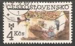 Sellos del Mundo : Europa : Checoslovaquia : Ilustracion de Lisbeth Zwerger